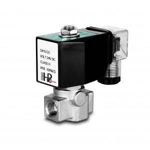 Elettrovalvola alta pressione HP15-M acciaio inossidabile SS304 110bar