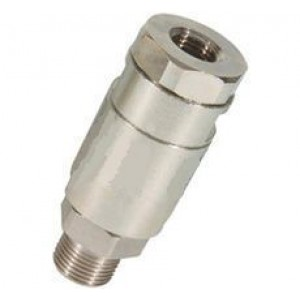 Raccordo girevole dritto al tubo flessibile di lavaggio della pressione 1/4, 3/8 pollici