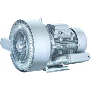 Soffiante a canale laterale, pompa ad aria Vortex, turbina, pompa per vuoto a due rotori SC2-7500 7,5KW