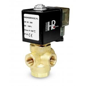 Elettrovalvola a 3 vie 3V 3x1 / 4 pollici 230V 24V 12V