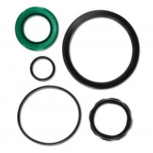 Impostare i sigillanti per l'attuatore SC con diametro del pistone di 32 mm