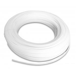 Tubo pneumatico in poliammide PA Tekalan 12/10 mm 1m bianco