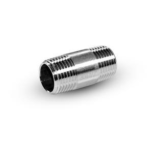 Nipplo per tubo acciaio inox 1/4 pollici 38 mm