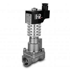 Elettrovalvola a vapore e alta temperatura. RHT15-SS DN15 300C 1/2 pollici