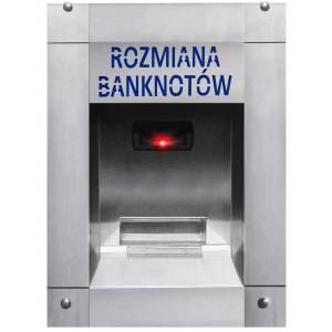 Cambio valuta standard per banconote per l'autolavaggio - senza maniglie