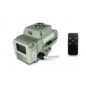 Attuatore elettrico con valvola a sfera A1600 230 V CA 160 Nm controllo 4-20 mA