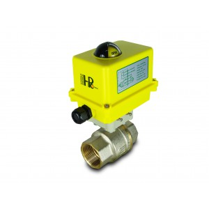 Valvola a sfera 1 1/2 pollici DN40 con attuatore elettrico A250