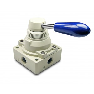 Valvola manuale 4/3 4HV230-08 Attuatori da 1/4 di pollice