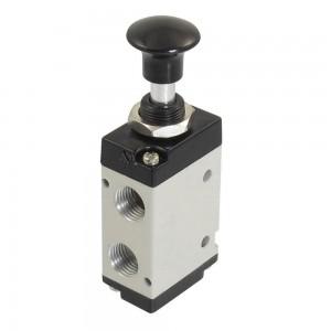 Valvola manuale premuta 5/2 4L210 1/4 pollici per attuatori