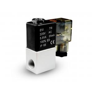 Elettrovalvola per aria e CO2 2V08 1/4 230V 24V 12V