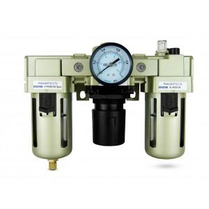 Filtro lubrificatore regolatore disidratatore FRL da 1/2 pollici impostato su aria AC4000-04
