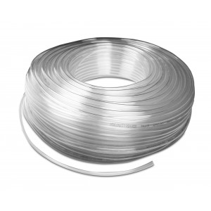 Tubo pneumatico poliuretanico PU 6/4 mm 1m trasp.