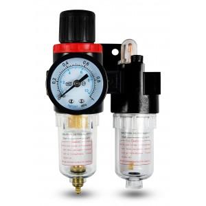 Filtro lubrificatore regolatore disidratatore FRL 1/4 pollici impostato per aria AFC2000