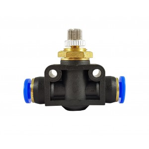 Tubo flessibile per valvola di strozzamento del regolatore di flusso di precisione 10mm LSA10