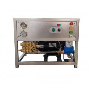 Impostare la pompa e il motore sul telaio per il lavaggio con accessori 13 l / min 150bar equivalente CAT350