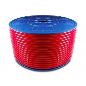 Tubo pneumatico in poliuretano PU 16/11 mm 1m blu