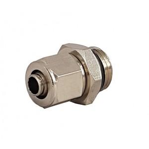 Raccordi rapidi per tubo 6/4 con filettatura 1/8 pollici RPC 6/4-G01