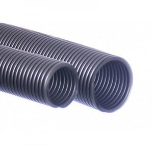 Tubo aspirapolvere 38/40 mm argento 5m EVA