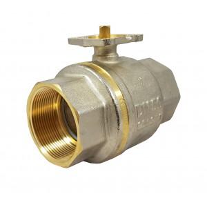 Valvola a sfera 1 1/2 pollice DN40 PN25 piastra di montaggio ISO5211