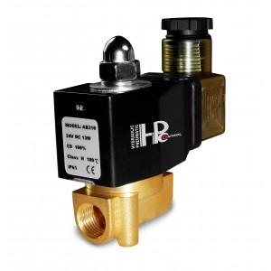 Elettrovalvola 2N08 1/4 230V o 24V, 12V Viton - resistente agli agenti chimici