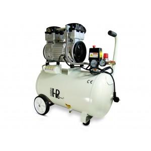Compressore dentale silenzioso oil-free 1100W 50l