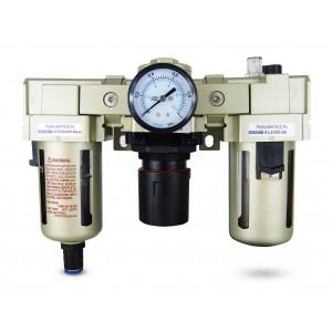 Filtro lubrificatore regolatore disidratatore FRL da 3/4 pollici impostato su aria AC4000-06D