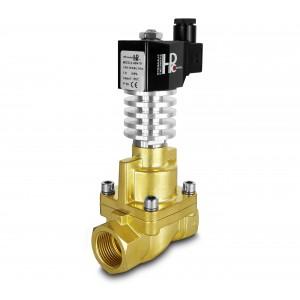 Elettrovalvola a vapore e alta temperatura. RHT25 DN25 300C 1 pollice