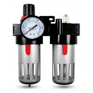 Filtro lubrificatore regolatore disidratatore FRL da 1/2 pollici impostato su aria BFC4000