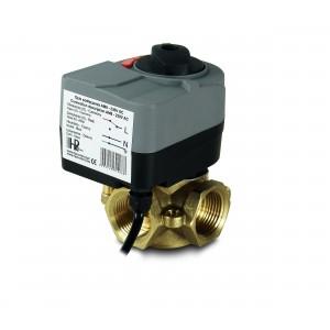 Valvola miscelatrice 3 vie 1 pollice con attuatore elettrico AM8