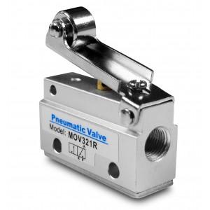 Valvola manuale 3/2 MOV321R Attuatori da 1/8 di pollice