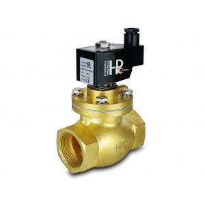 Elettrovalvola a vapore e alta temperatura. LH50 DN50 200C 2 pollici