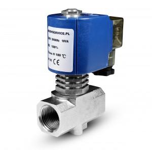 Elettrovalvola per vapore RV15 1/2 inch 180C