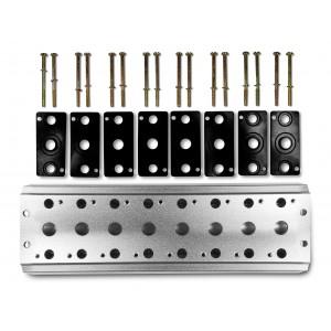 Collettore per collegare 8 valvole 1/4 serie 4V2 4A gruppo elettrovalvola 5/2 5/3