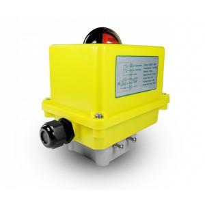 Attuatore elettrico con valvola a sfera A250 230V AC 25Nm