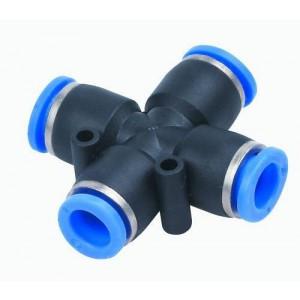 Tubo flessibile per capezzoli PZA10 a croce 10mm