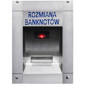 Cambiamonete per banconote per l'autolavaggio (impermeabile)