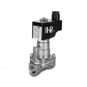 Elettrovalvola a vapore e alta temperatura. RH20-SS DN20 200C acciaio inox 3/4 pollici SS304