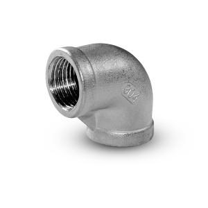Filettatura interna del ginocchio in acciaio inox 1/4 pollici