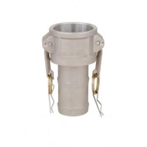 Connettore Camlock - tipo C 1 1/4 pollici DN32 Alluminio