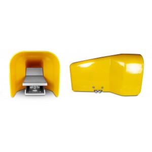 Valvola di fondo, pedale aria 5/2 1/4 di pollice per cilindro 4F210G - monostabile con coperchio