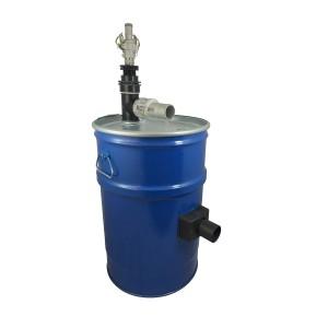 Serbatoio aspirapolvere 60l con pulizia filtro aria compressa