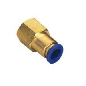 Tubo capezzolo tubo 6mm filetto interno 1/4 pollice PCF06-G02
