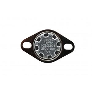 Termostato bimetallico, sensore di temperatura NC 5 ℃ 10 A 230 V CA tipo KSD301